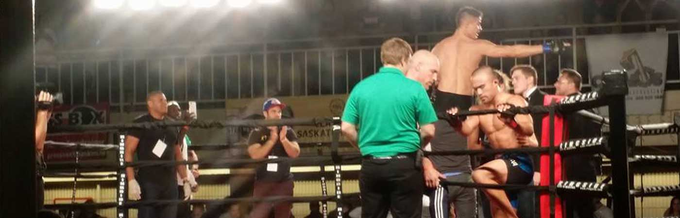 MMA Ring Match