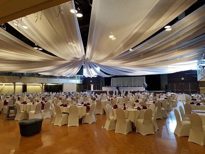 Large Wedding Dining Area