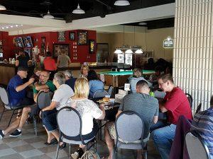 Turvey Lounge Customers